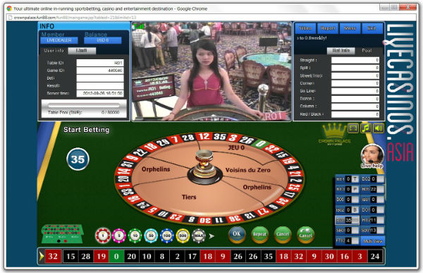 crown casino online roulette